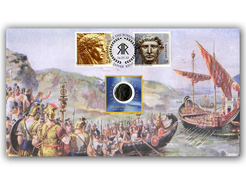 1600th Anniversary of Romans Leaving Britian Coin Cover