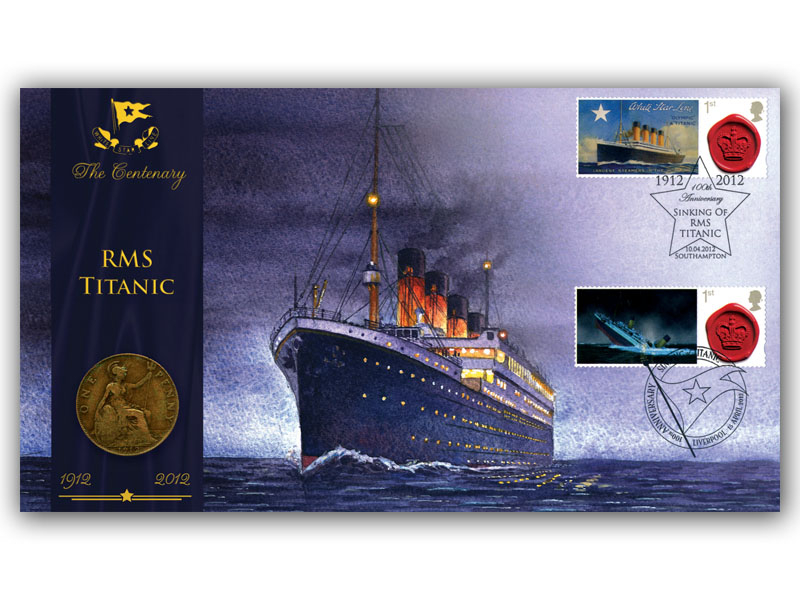 Centenary of the Titanic Sinking Coin Cover