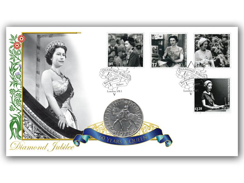 Diamond Jubilee Coin Cover