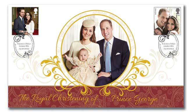Royal Baby Christening Cover
