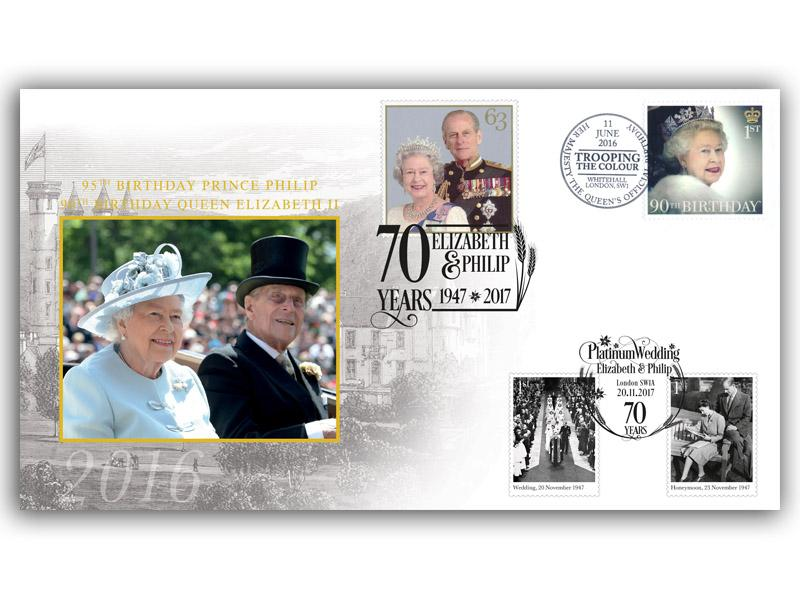Royal Platinum Wedding & Royal Birthdays Double Cover