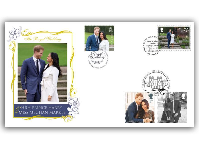 The Royal Wedding of HRH Prince Harry and Miss Meghan Markle UK Islands Cover