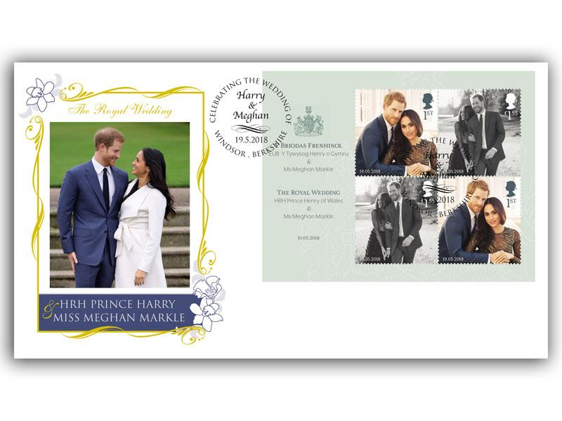 The Royal Wedding of Prince Harry & Meghan Markle Engagement/Wedding Cover