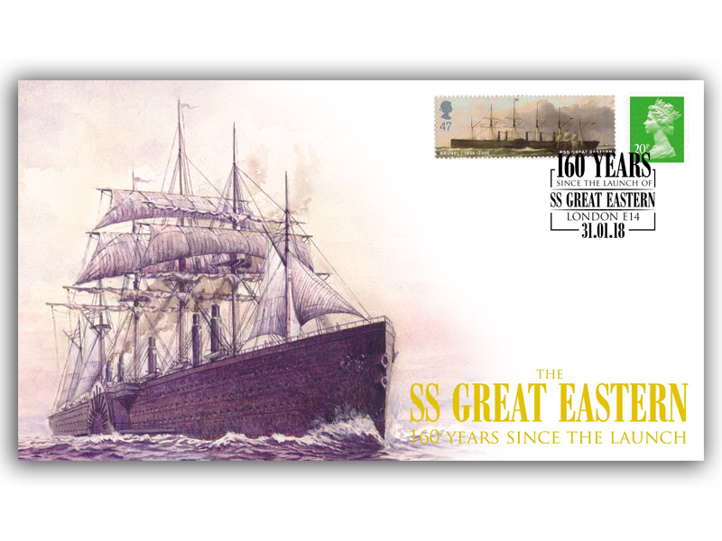 160 Years Since the Launch of the SS Great Eastern Maritime Cover