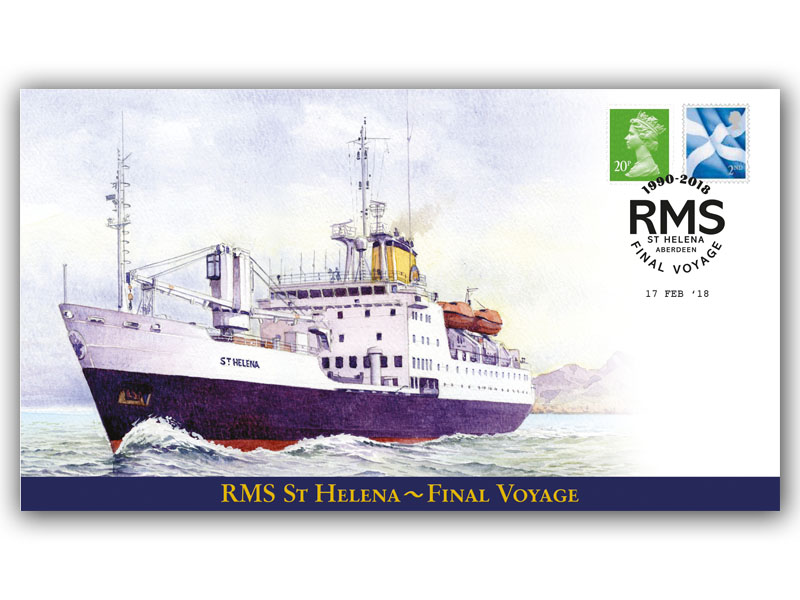RMS St Helena Final Voyage