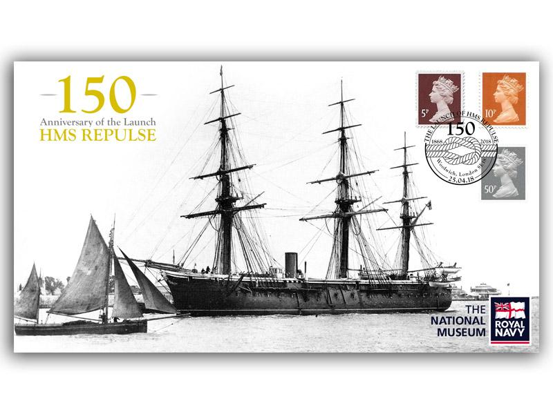 150th Anniversary of the Launch of HMS Repulse