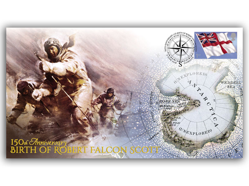 150th Anniversary of the Birth of Robert Falcon Scott