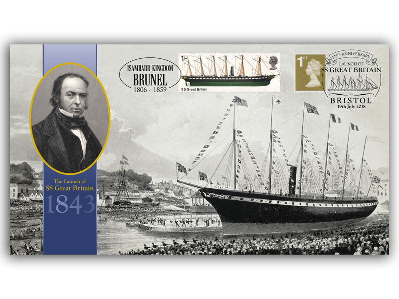 175th Anniversary of the Launch of SS Great Britain