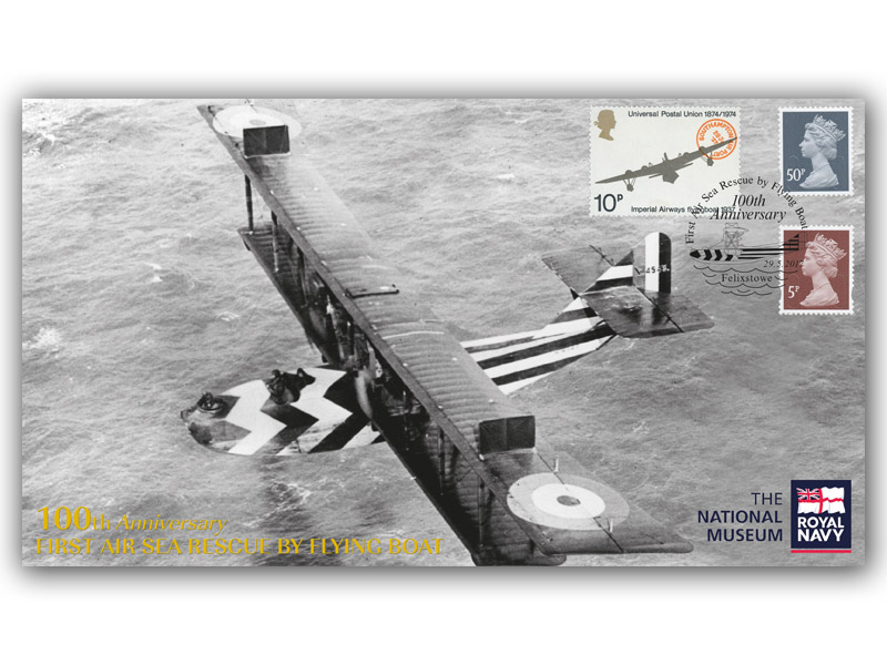 The First Air Sea Rescue by Flying Boat