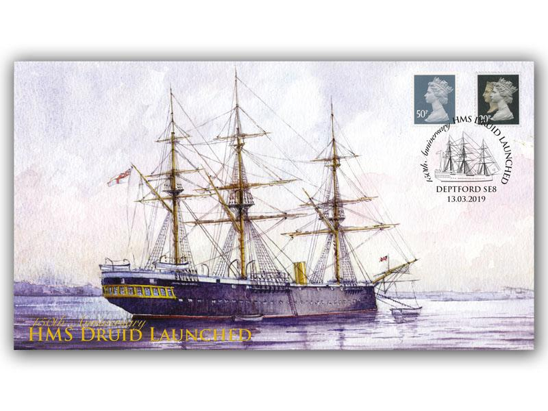 150th Anniversary of the Launch of HMS Druid