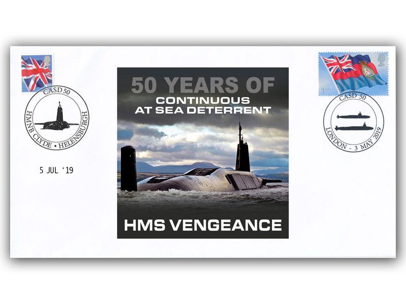 50th Anniversary of Continuous At Sea Deterrent First Day Covers