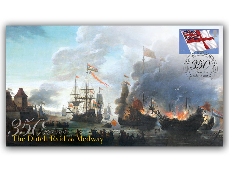 350th Anniversary of the Dutch Raid on Medway - The Battle of Chatham