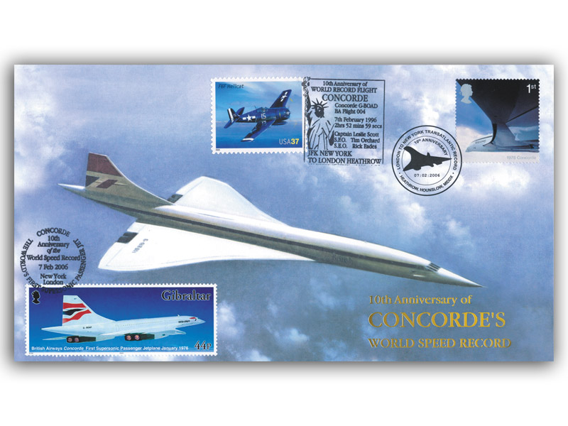 Concorde World Record: 10th Anniversary