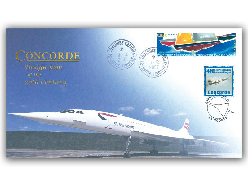 40th Anniversary of Concordes Unveiling at Toulouse