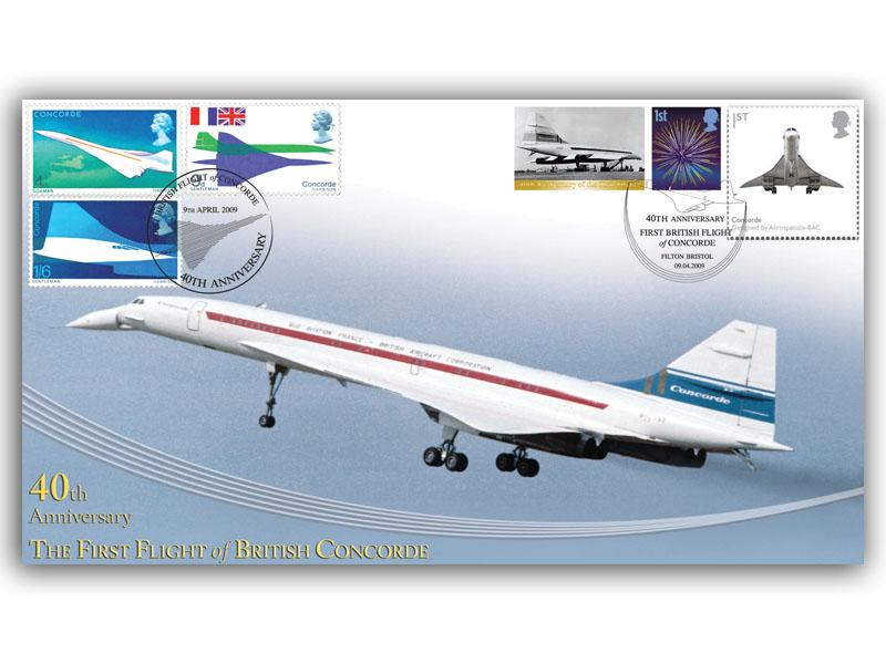 40th Anniversary of the First Flight of British Concorde