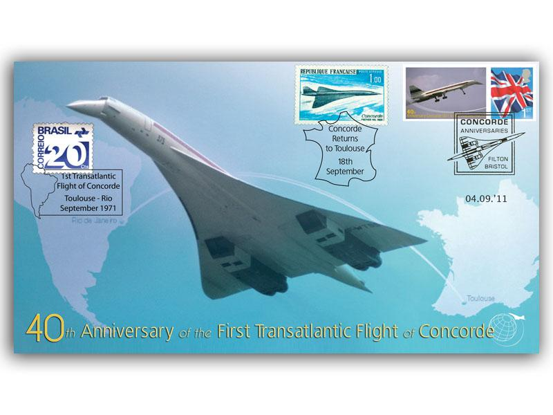 Concorde 40th Anniversary Transatlantic Fligh