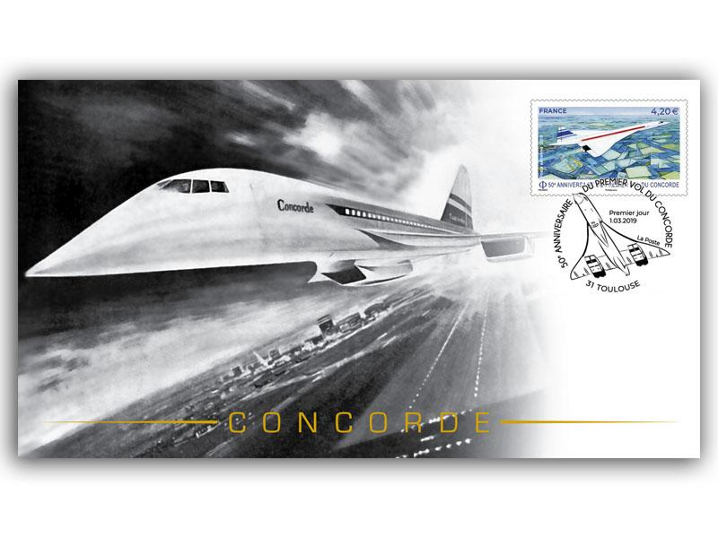 50th Anniversary of the First Test Flight of Concorde 001