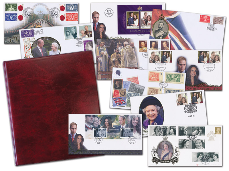 10 Unsigned Buckingham Royalty Covers Plus a Standard Album