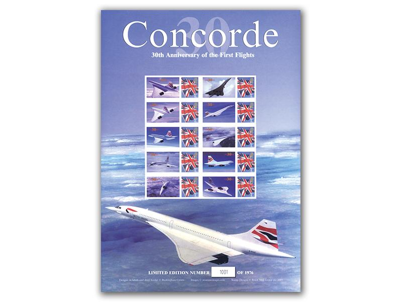 Concorde 30th Anniversary - Sheet 2 of 3