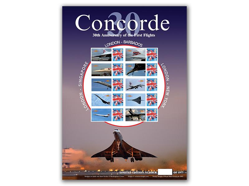 Concorde 30th Anniversary - Sheet 3 of 3