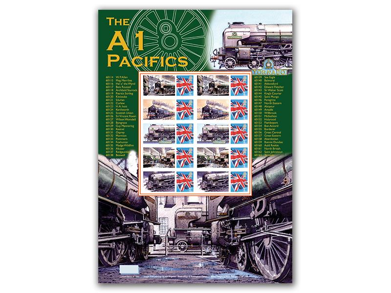 A1 Pacifics Stamp Sheet