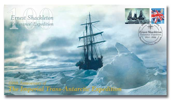 100th Ann Shackleton's Antarctic Expedition