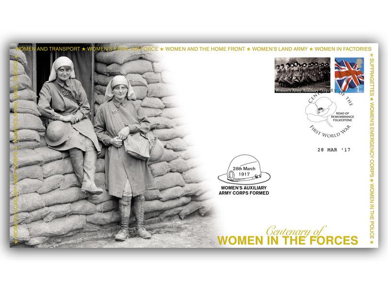 Centenary of the Women's Auxillary Army Corps