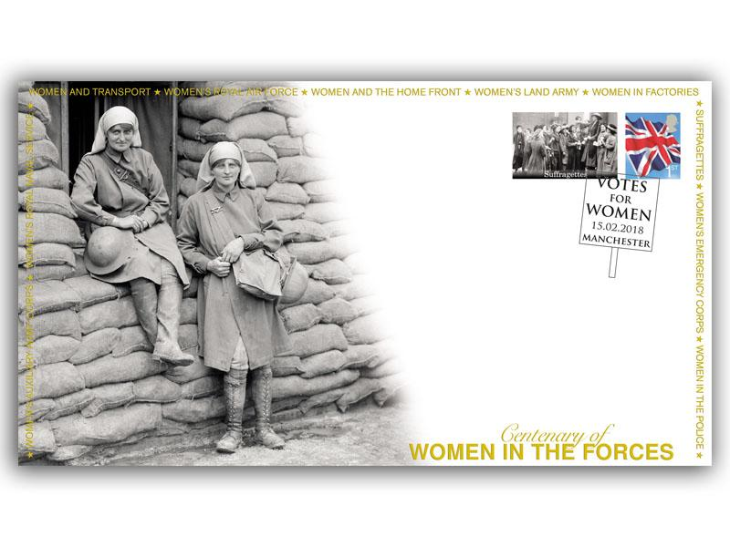 Women in Forces - Centenary of the Suffragettes
