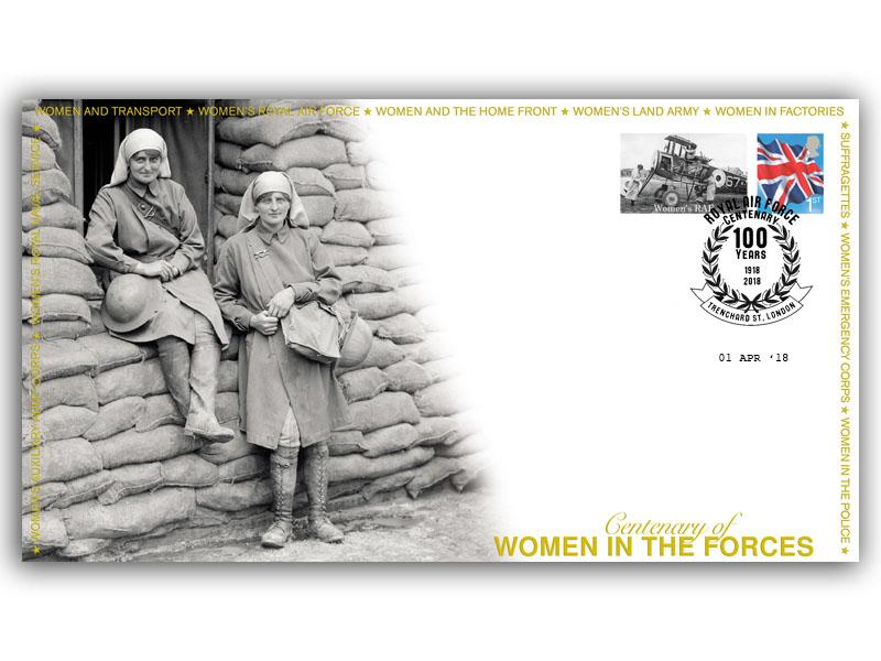 Centenary of the Formation of the Womens Royal Air Force First Day Covers