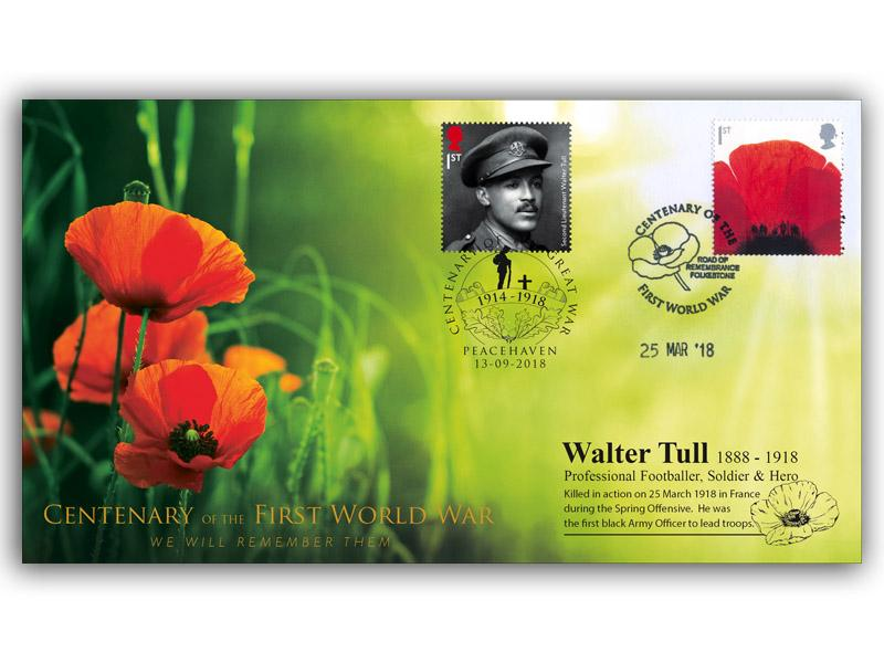 A Tribute to Walter Tull - 1888 to 1918