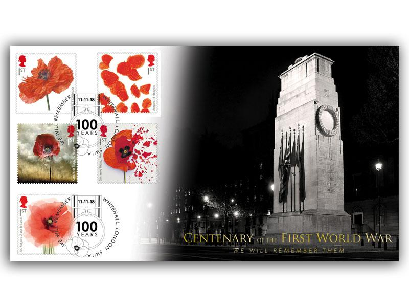 Centenary of World War 1 - Armistice 100 Poppy Special
