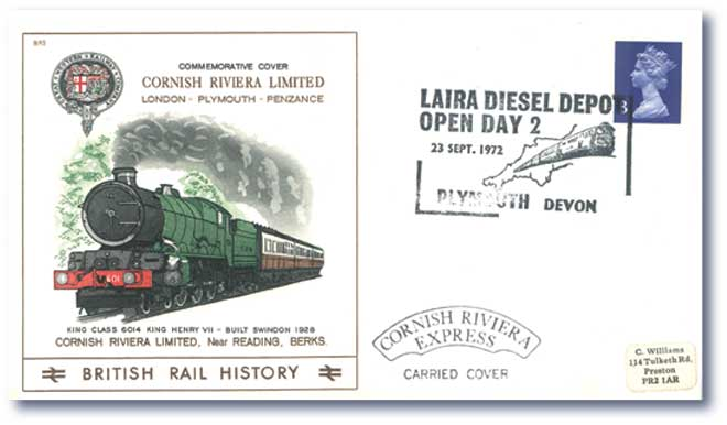 1972 Cornish Riviera, Laira Diesel Depot Open Day 2