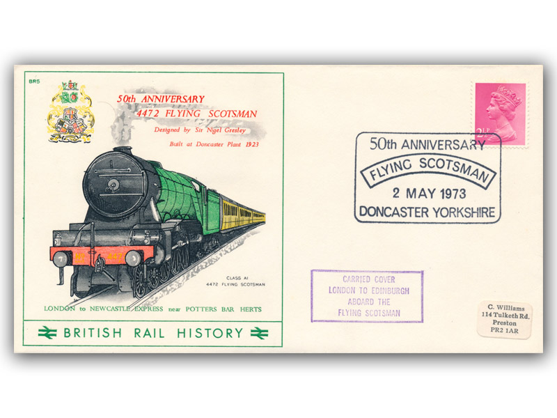 1973 50th Anniversary of the Flying Scotsman - Doncaster