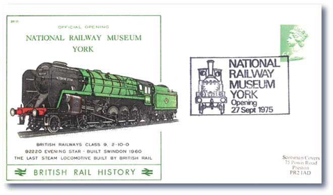 1973 The Official Opening of the National Railway Museum