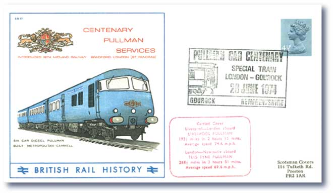 1974 Centenary of the Pullman Car Service