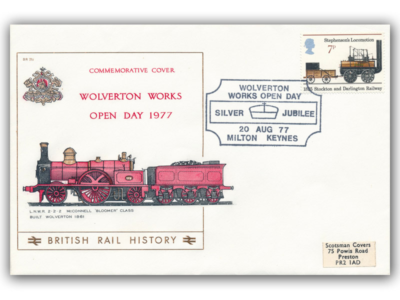1977 Wolverton Works Silver Jubilee Open Day