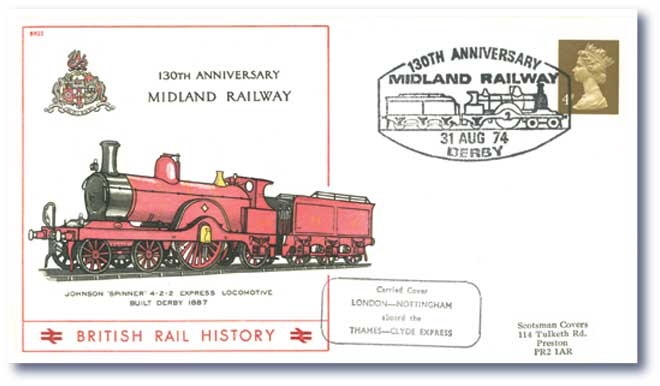 1974 130th Anniversary of the Midland Railway