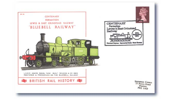 1976 Centenary of the Formation of the Lewes and East Grinstead Railway