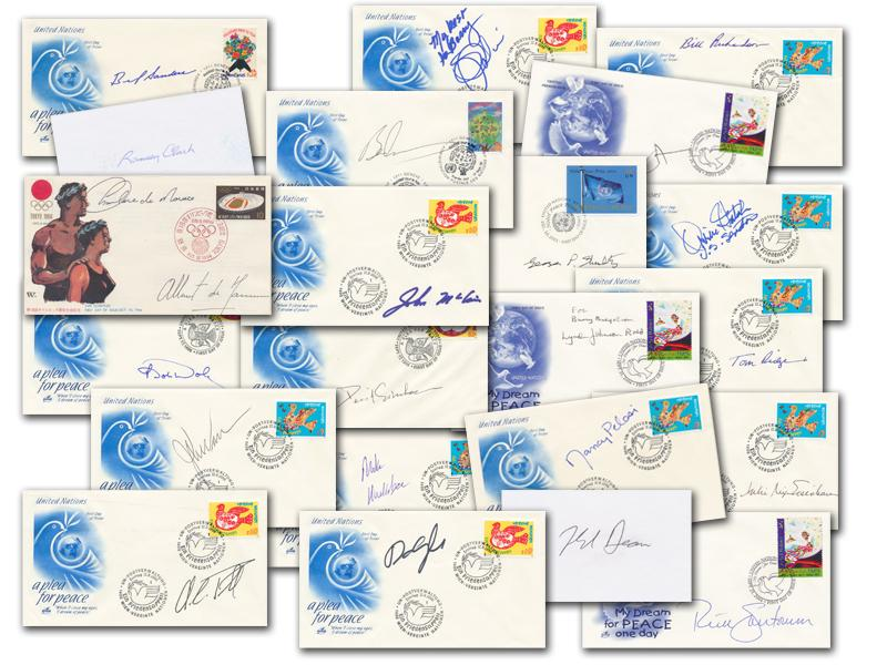 Collection of 20 American Politician Signed Covers