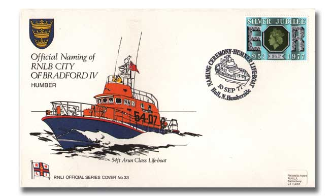 Official Naming Of RNLB City of Bradford IV