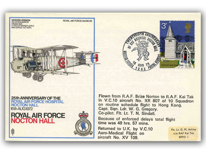 25th Anniversary of Royal Air Force Hospital