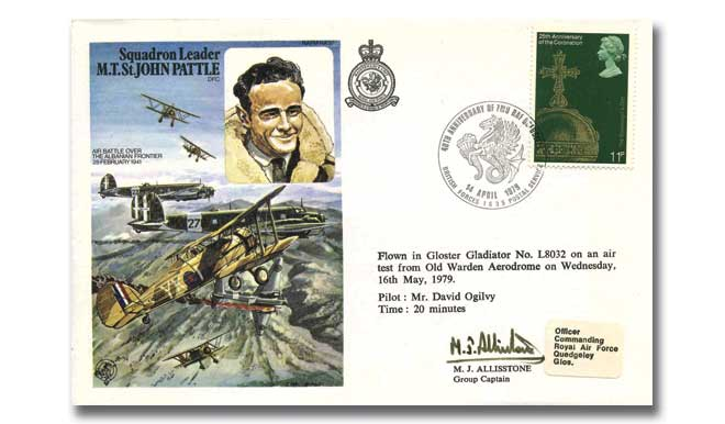 Squadron Leader M T St John Pattle DFC