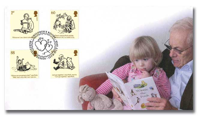 Childrens Books stamp cover