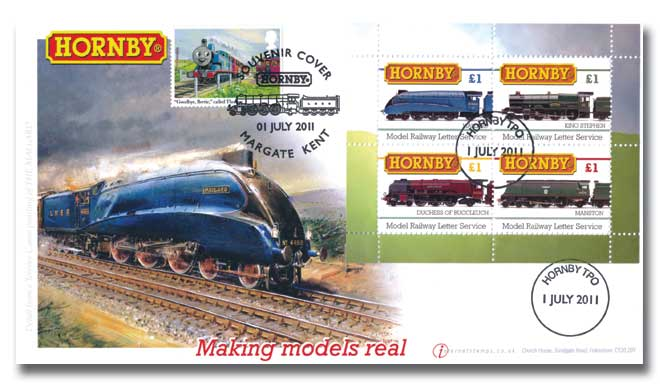 Hornby and Thomas the tank engine