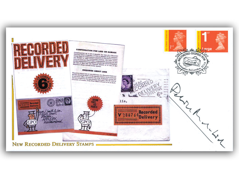 Recorded Delivery Definitives