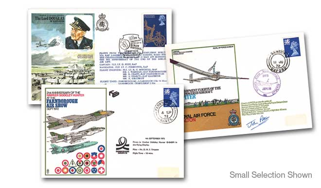 10 Different Flown Raf Covers