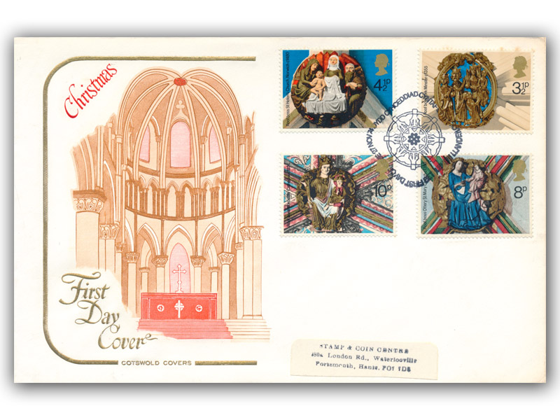 1974 Christmas Cover with a Bethlehem Special Postmark
