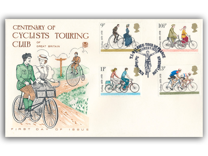 2nd August 1978 Cycling Centenaries Cover