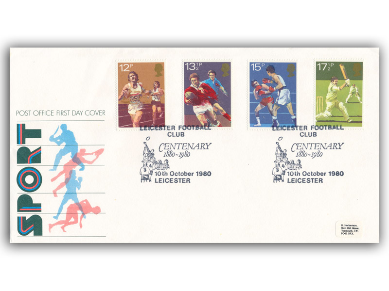 10th October 1980 Sport First Day Cover