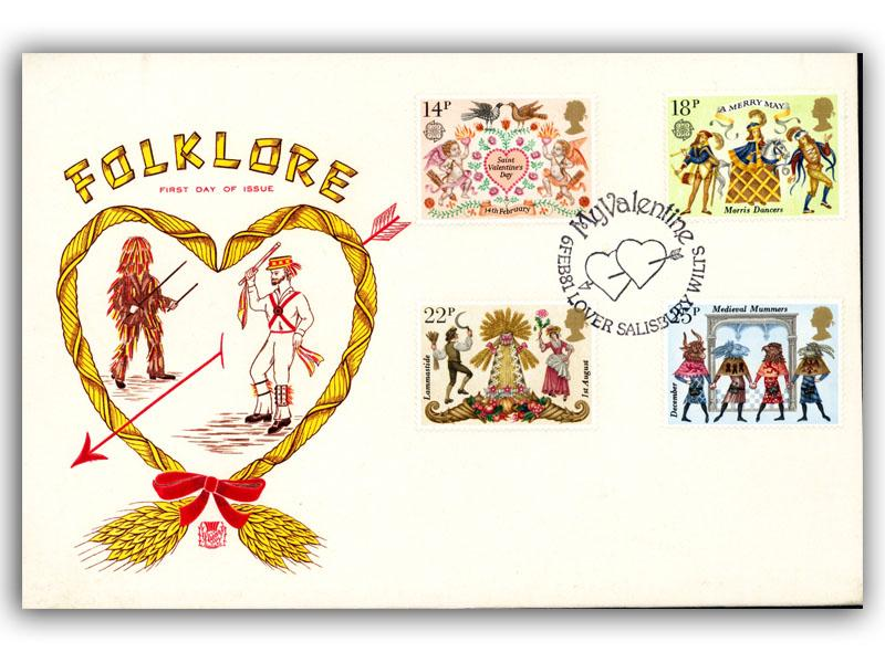6th February 1981 Folklore First Day Cover